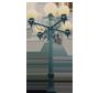 Globe Style 5 Lamp Unit