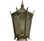 Steepled Lantern Style Lamp Luminaire