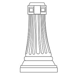 Bentley Lamp Post Pedestal
