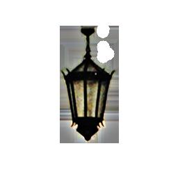 Hanging Lantern Style Chandelier