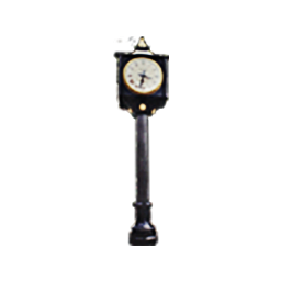 Lamp Pole with Clock